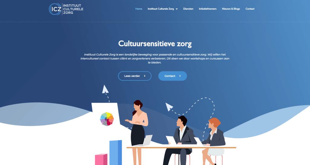 Wordpress website op maat ICZ